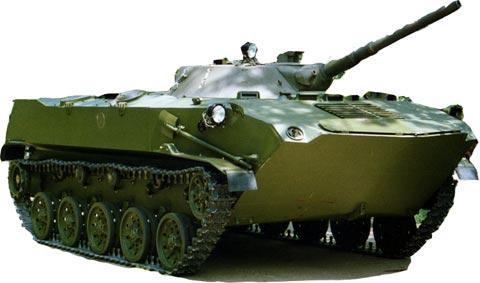 В парке им. 50-летия СССР установят макет БМД-1ПК
