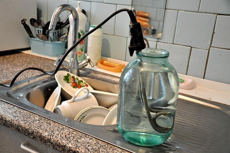 Отключение горячей воды с 7 по 9 августа