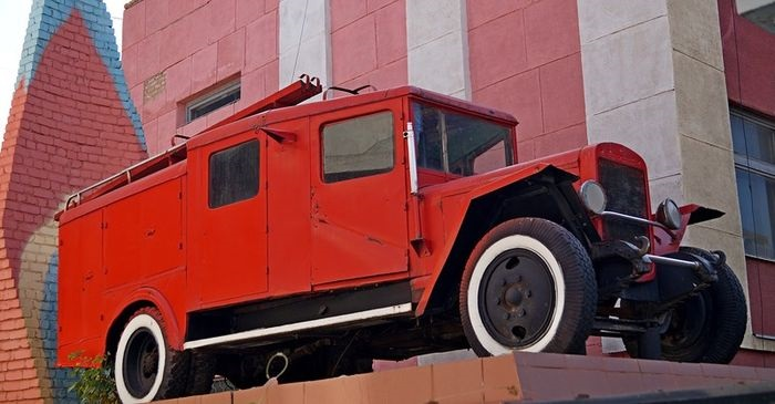 Ретро-техника пожарных проедет в субботу по улицам Оренбурга в честь юбилея