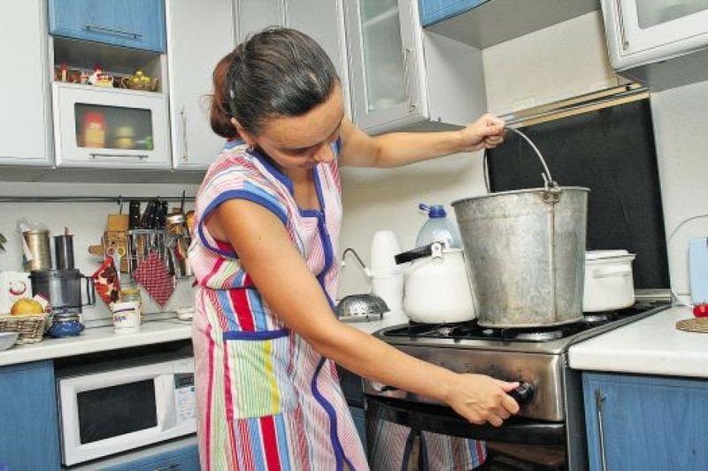 Отключение горячей воды с 30 августа по 1 сентября