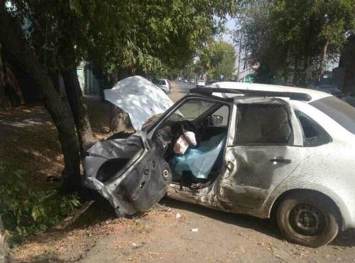 Авария на перекрестке улиц Комсомольская и Фрунзе